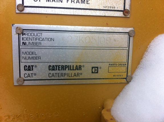 Cat 140H 02ZK05109