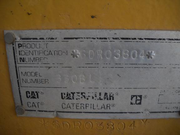Cat 330BL 6DR03804
