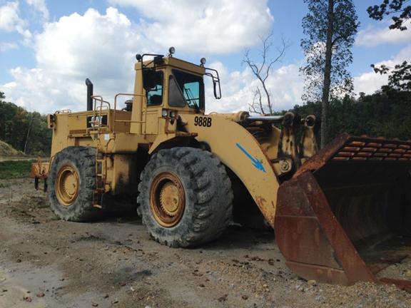 Cat 988B 50W11365