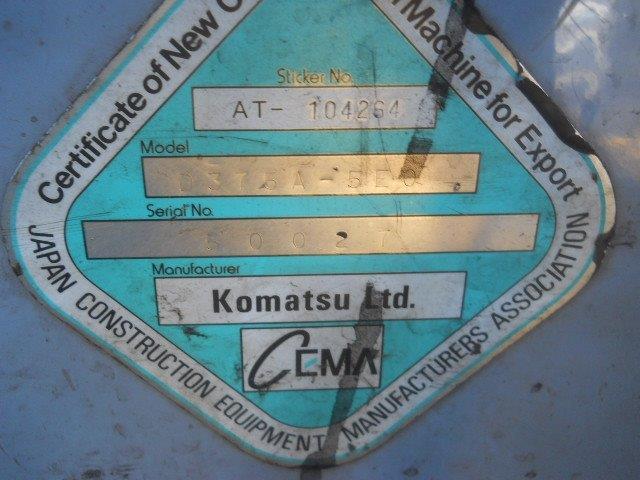 Komatsu D375A 50027