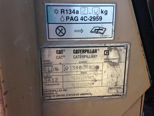 Cat D10N 3SK00689